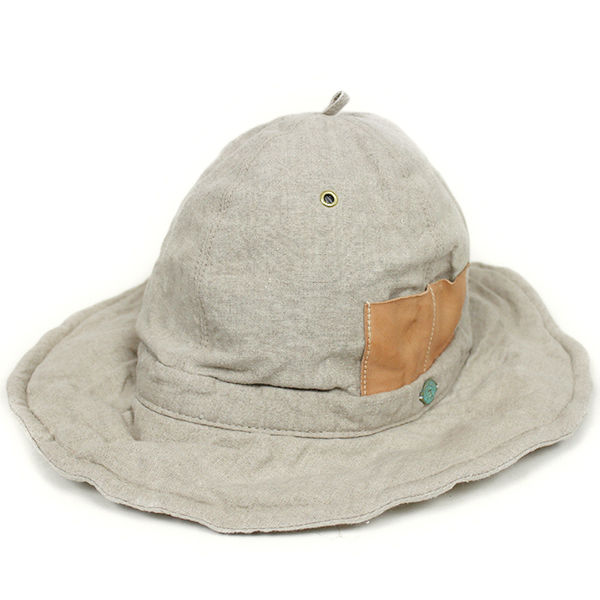 The Dawn B × DECHO NEXT FARMER'S HAT リネンハット ナチュラル