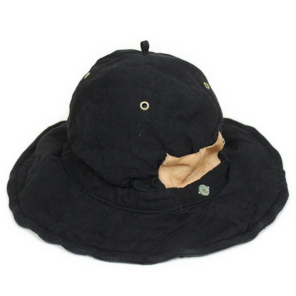 The Dawn B × DECHO NEXT FARMER'S HAT リネンハット ブラック