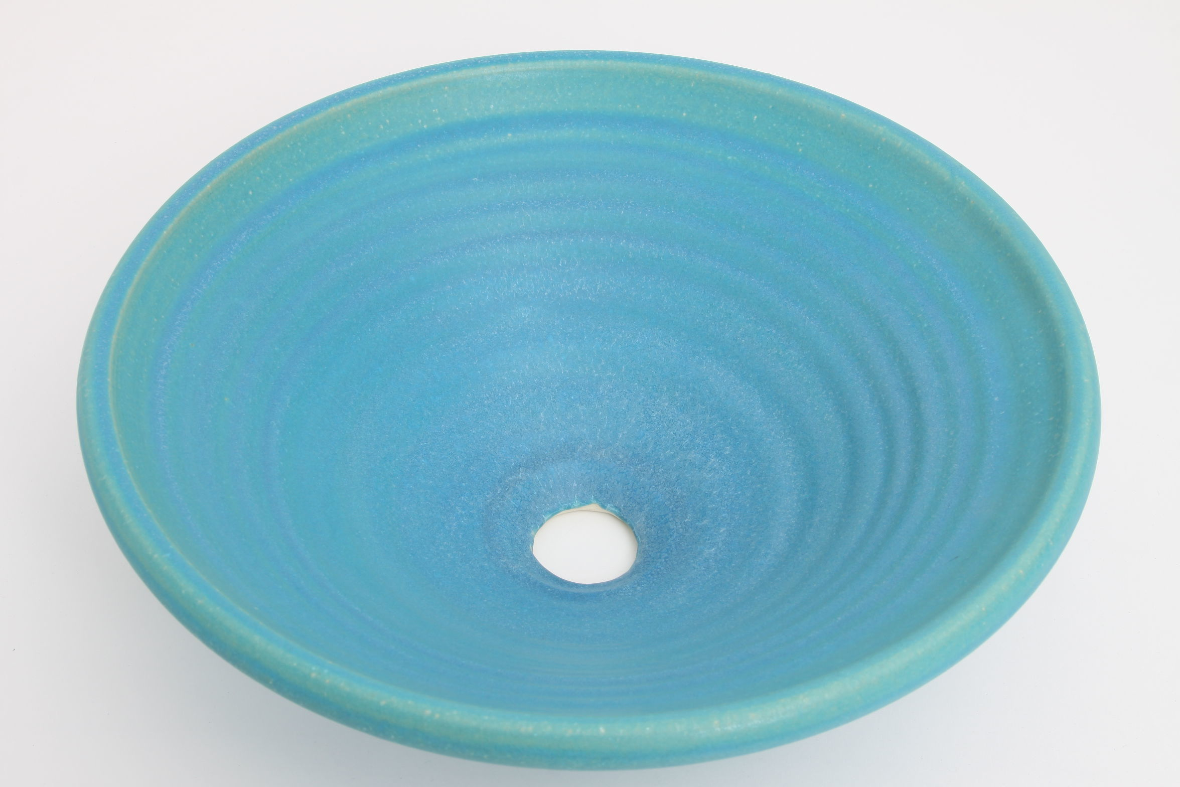 トルコブルー(中)手洗い鉢