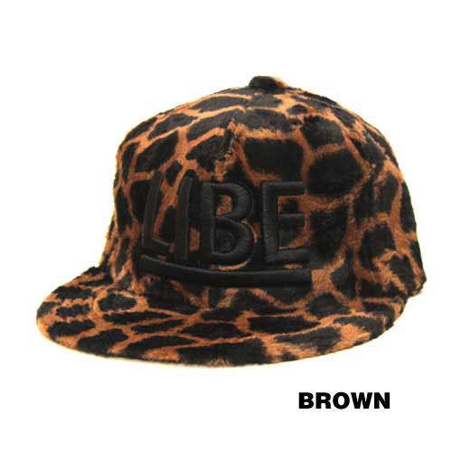 【LIBE BRAND UNIVS.】BIG LOGO FUR CAP
