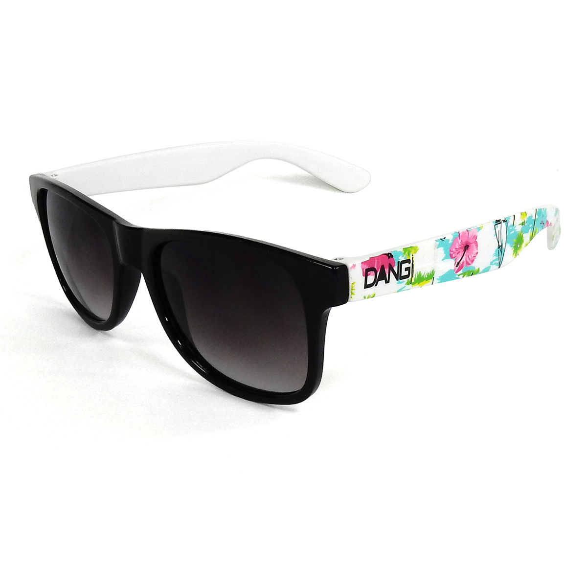 【DANG SHADES】LOCO Black Gloss / Hawaiian×Gray Gradation Aloha Wave collaboration