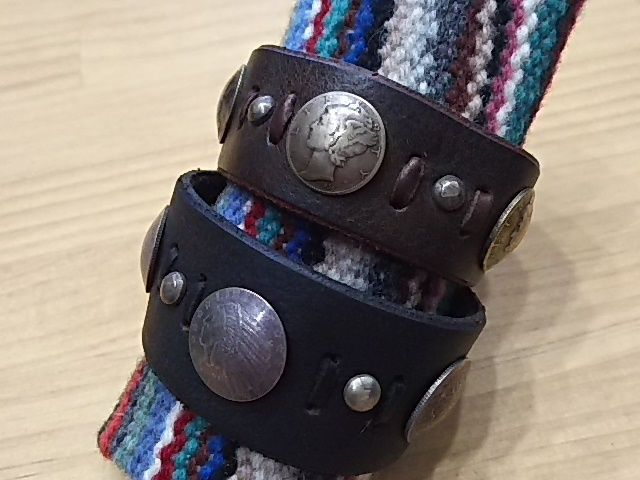Myka 『LEATHER BRACELET』
