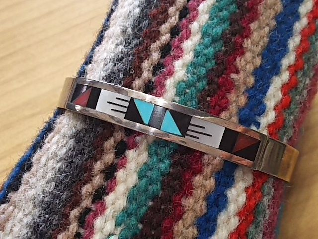 ZUNI 『INLAY BANGLE (LEANDER&LISA OTHOLE)』