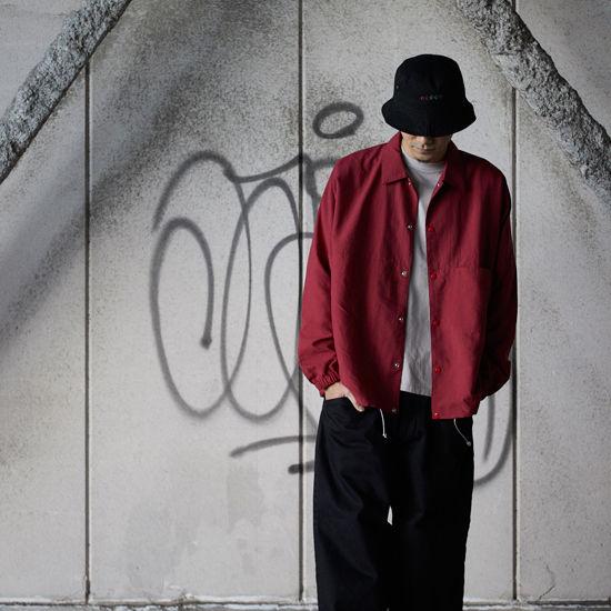 ionoi 『BEKA COACH JACKET(RED)』