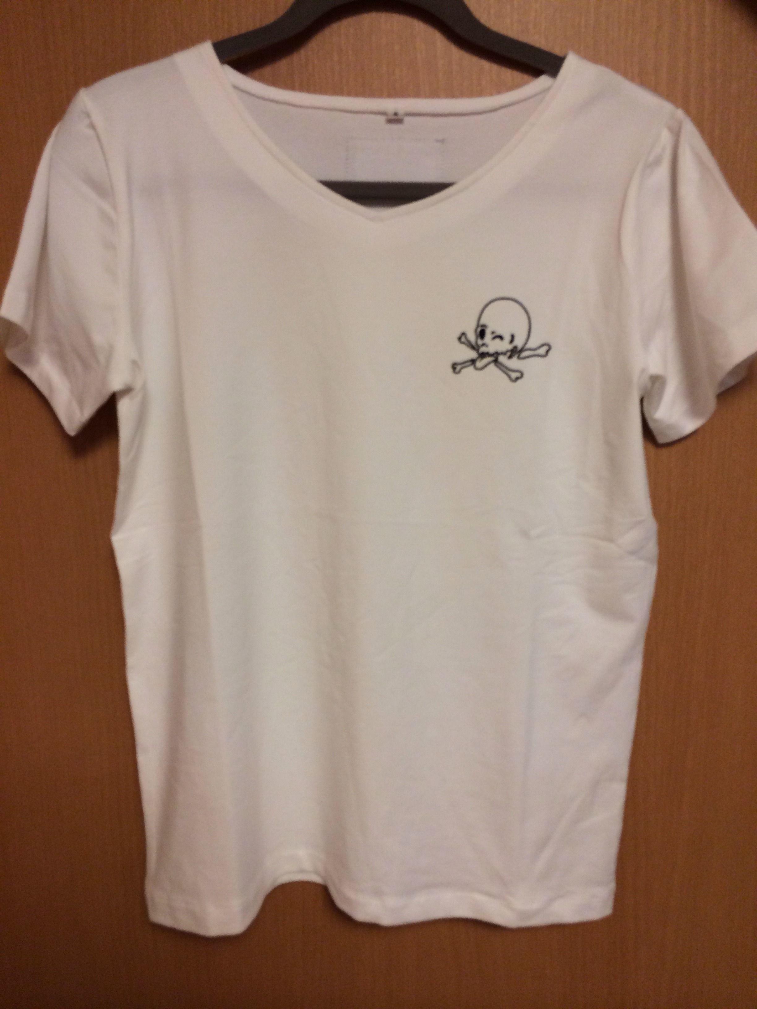 【SKULIAM】Tシャツ(White)