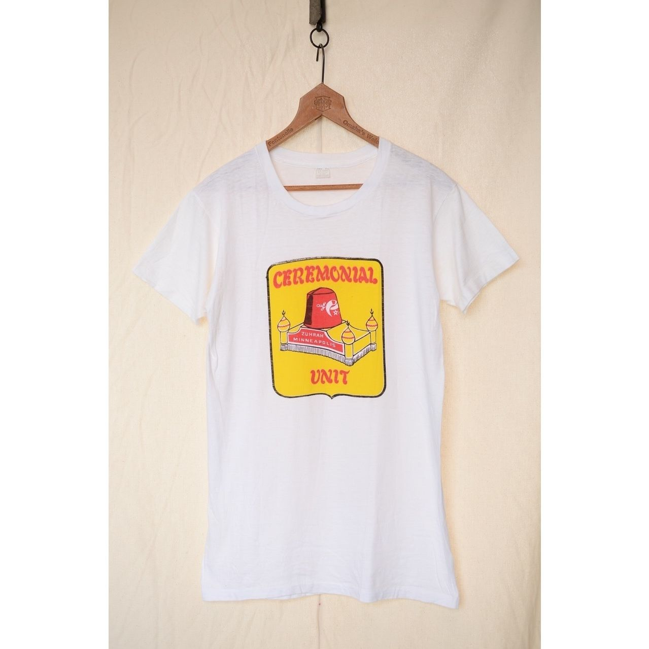 "UNION UNDERWEAR CO. 60'S ""Shriners"" Tシャツ"