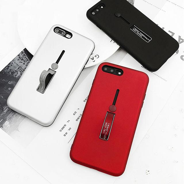 [NW197]  ★ iPhone 6 / 6s / 6Plus / 6sPlus / 7 / 7Plus / 8 / 8Plus ★ シェルカバー ケース スリム メタル シンプル ブラック
