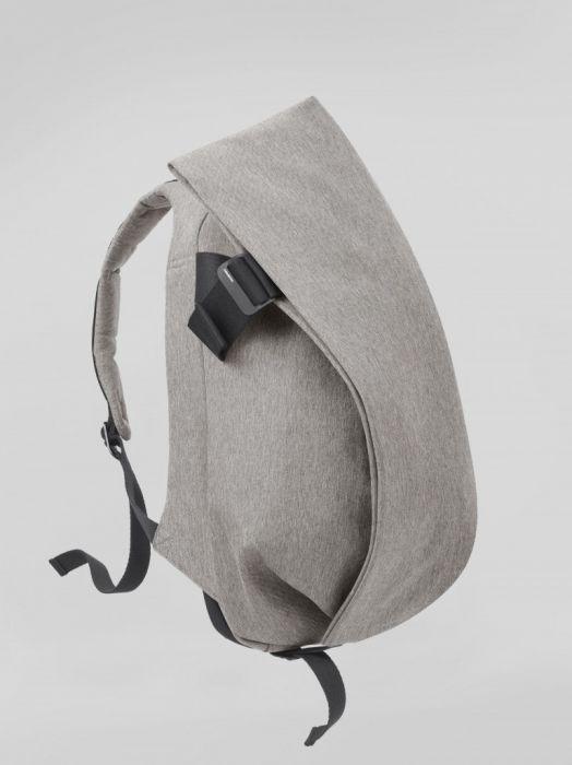 【27702】ISAR  ECO YARN Grey Melange  (L  size)【SALE】Cote&Ciel コートエシエル リュックサック