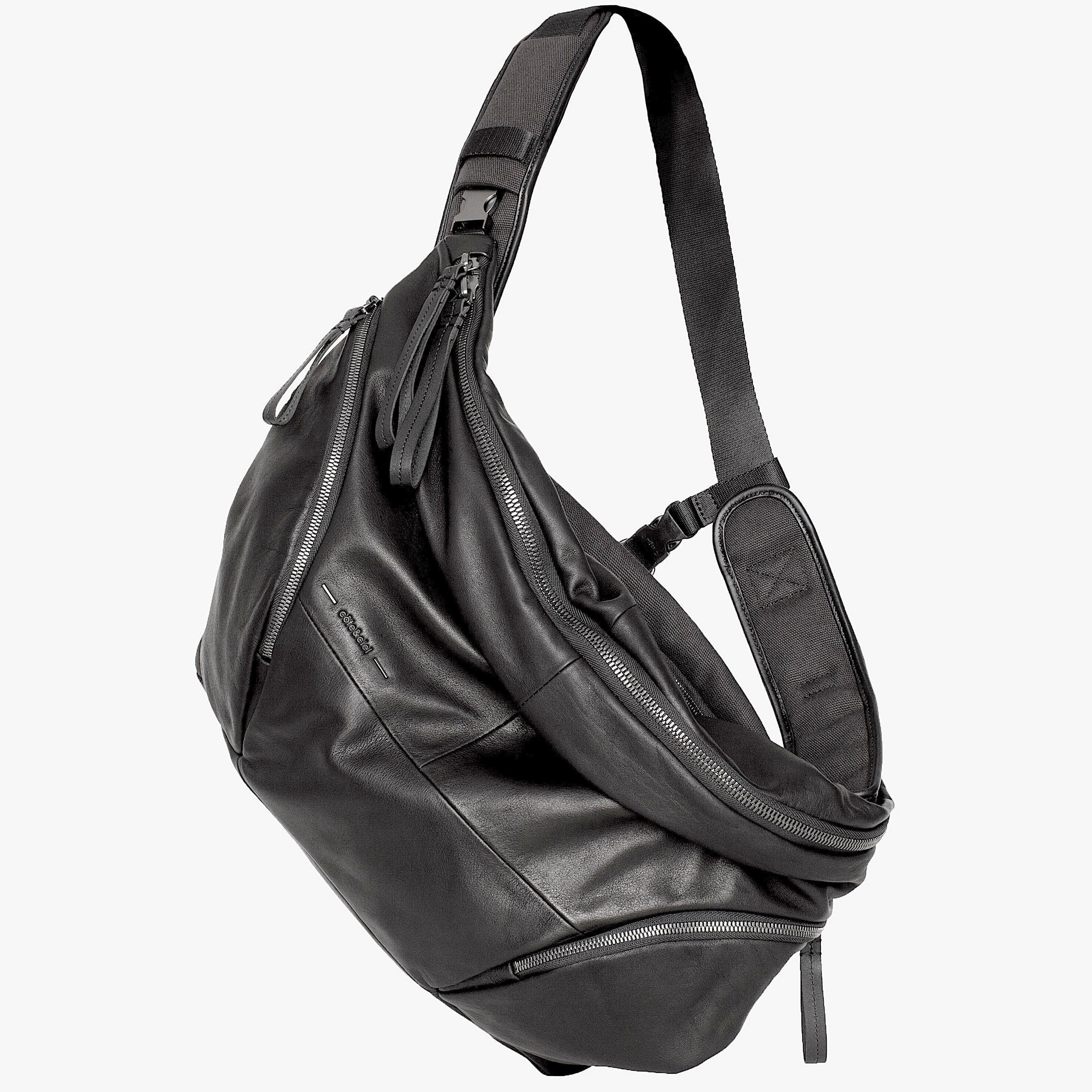 ★2018 春新作【28660】Oder-Spree  Alias Cowhile Leather 本革 - Black    Cote&Ciel コートエシエル ボディバッグ