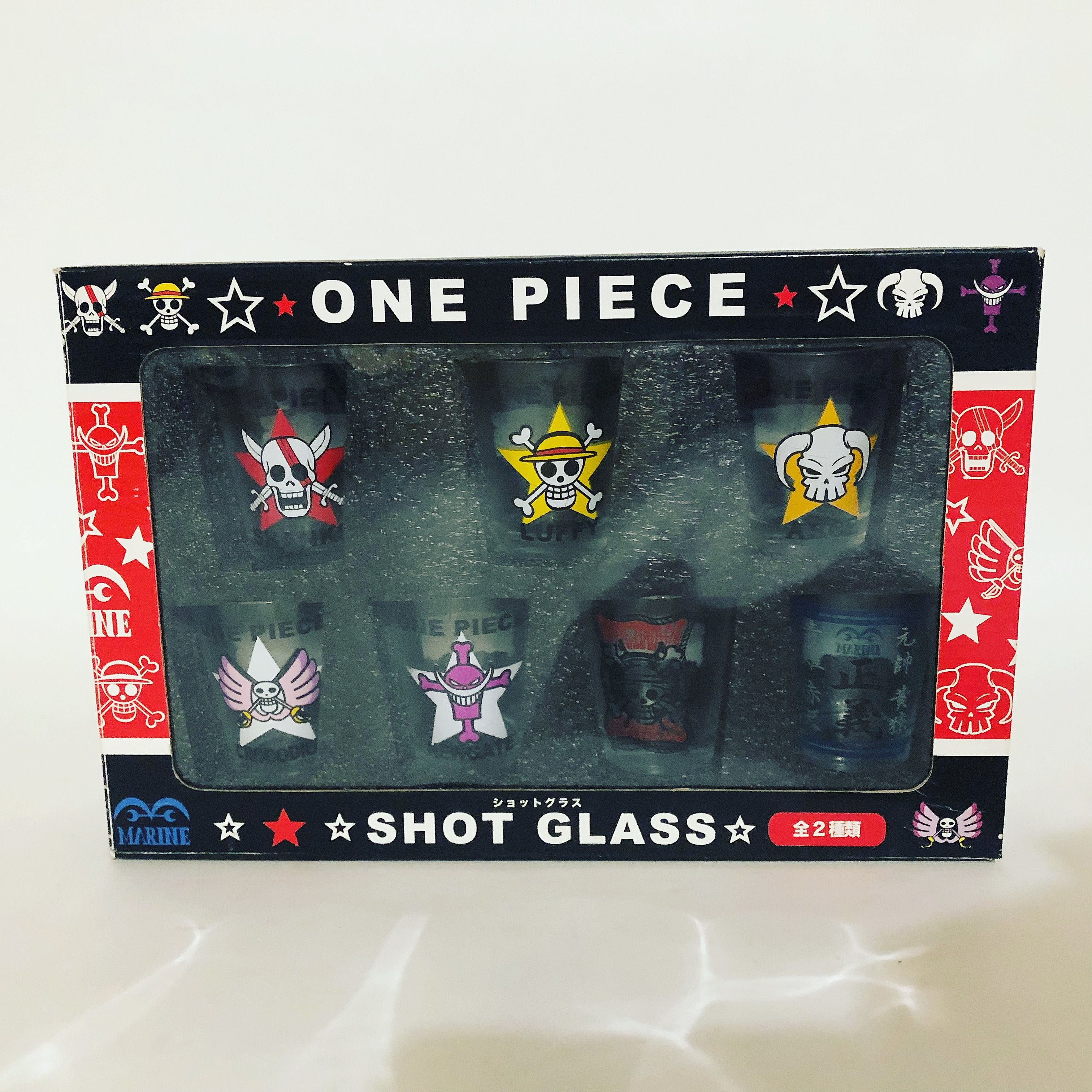 ONE PIECE  ワンピース SHOT GRASS SET