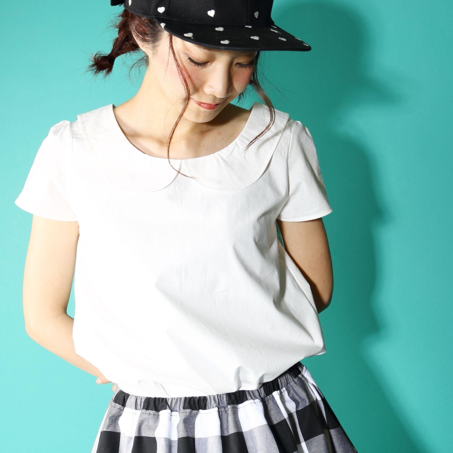 まるえりホワイトシャツ?