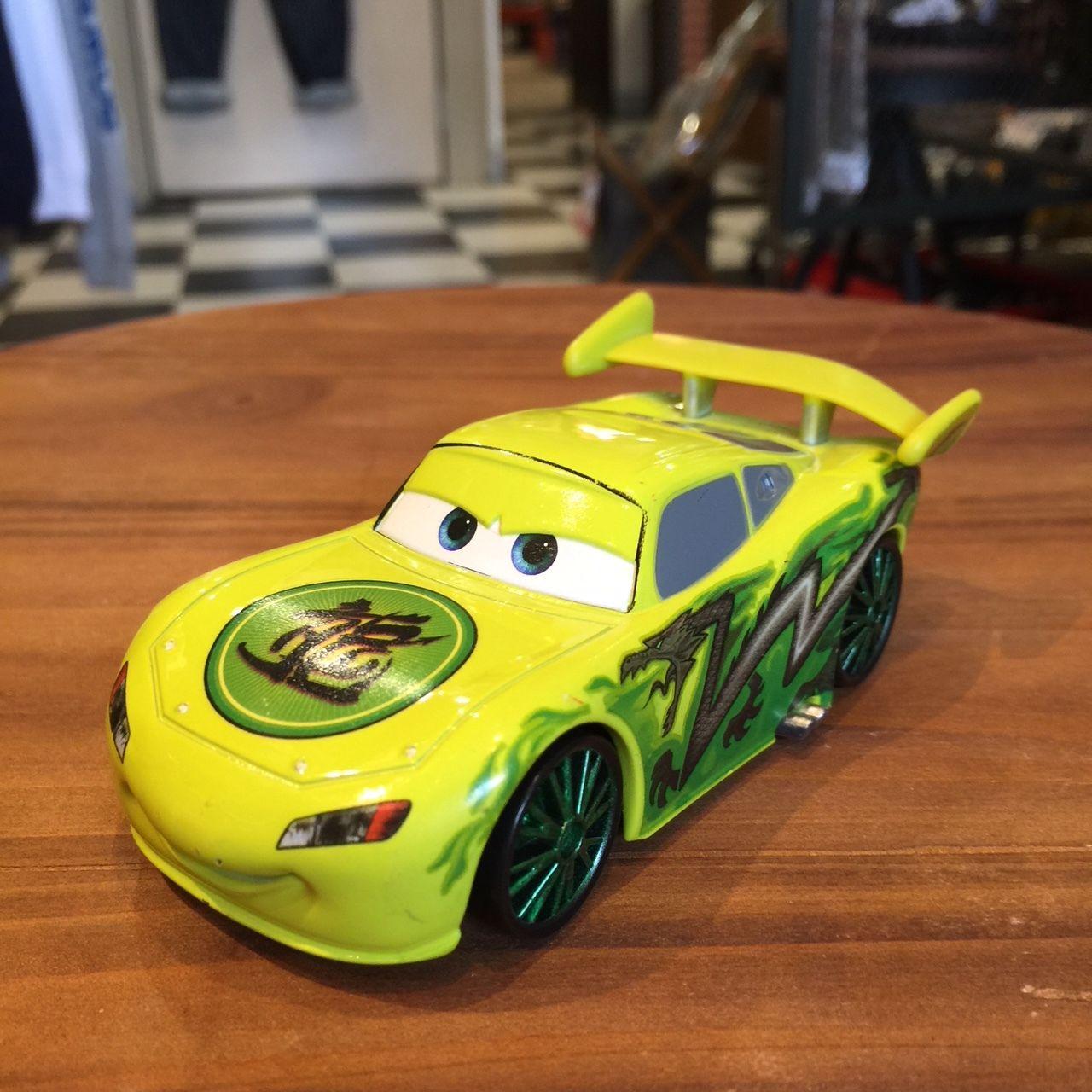 Disney Pixar Cars マックィーン カスタム ラージサイズダイキャストカー