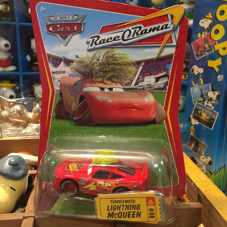 Disney Pixar Cars 初期 タンブルウィード マックィーン MATTEL社