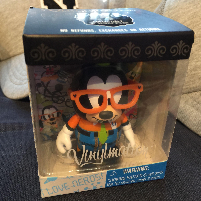 Disney バイナルメーション ANIMATION SERIES 2 メガネグーフィー 美品  Vinylmation