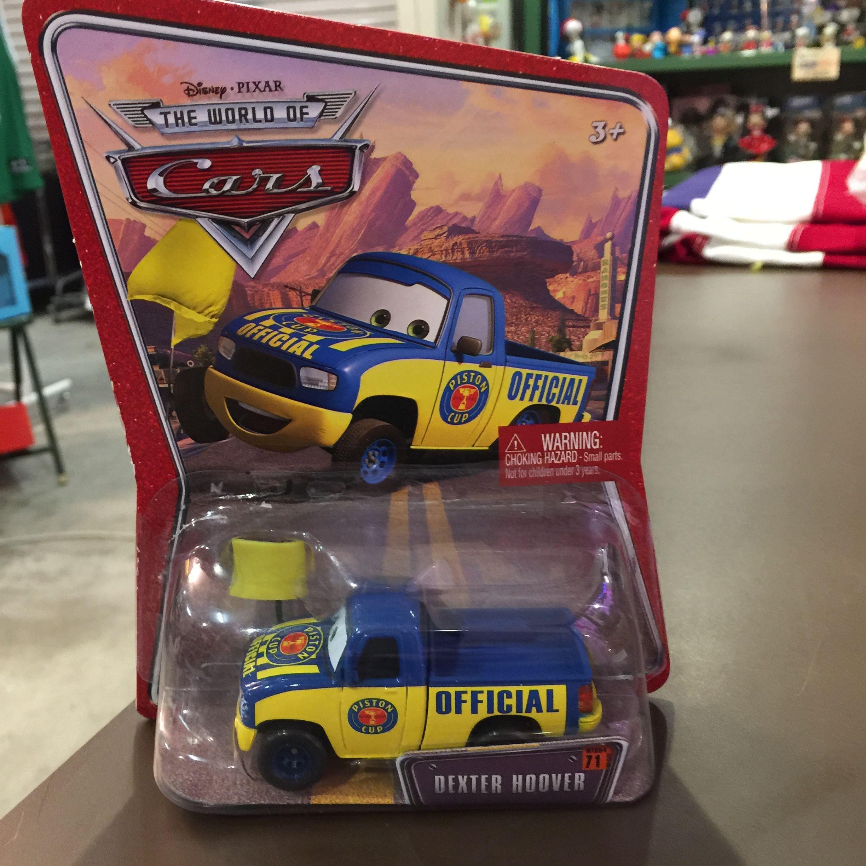 Disney Pixar Cars デクスター・フーバー イエローフラッグver.