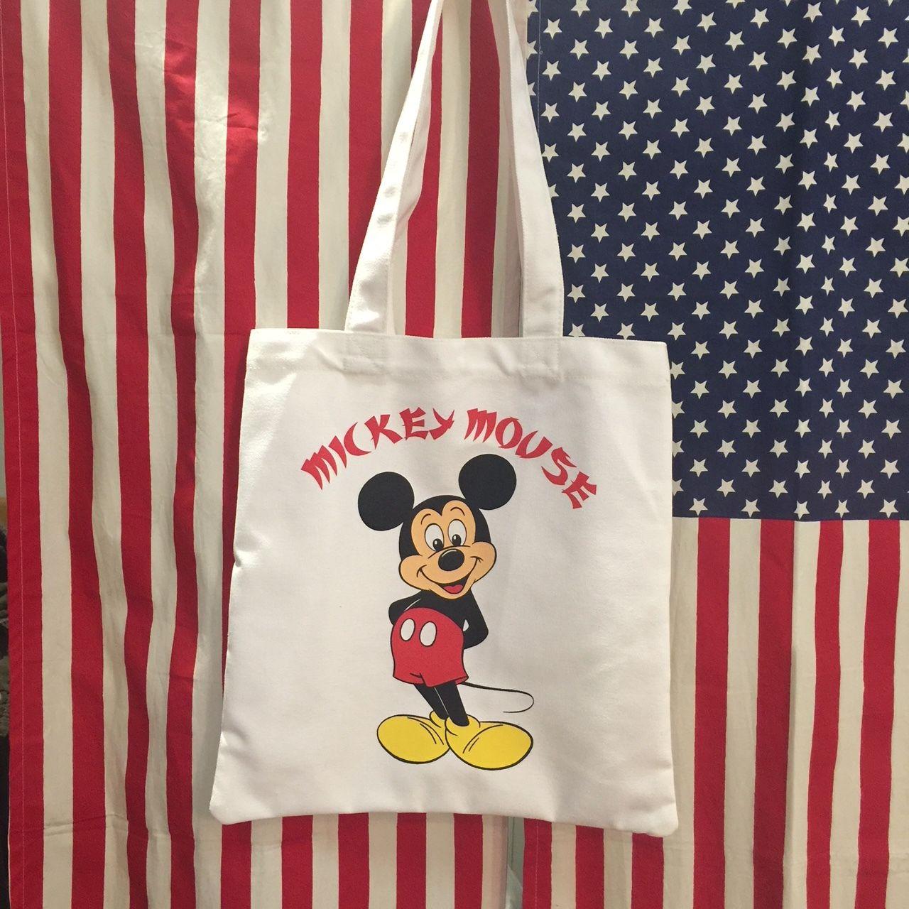 カラートートバッグ Disney ミッキーマウス