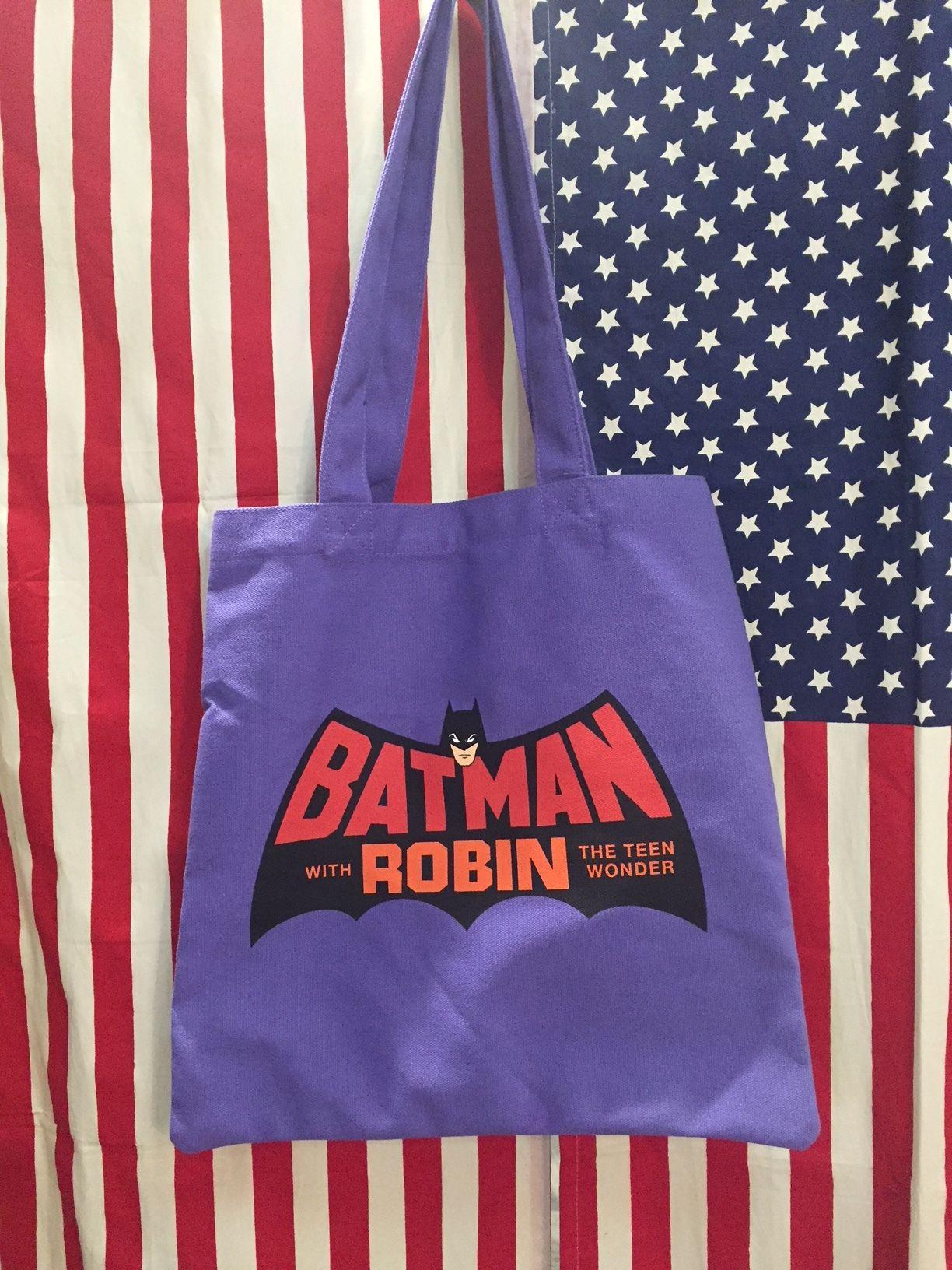 カラートートバッグ バットマン ロゴ
