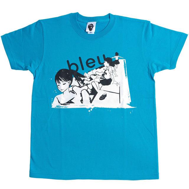 bleu T-SHIRT