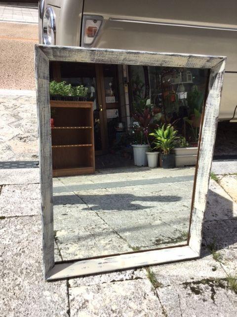 鏡(アメリカ中古家具)