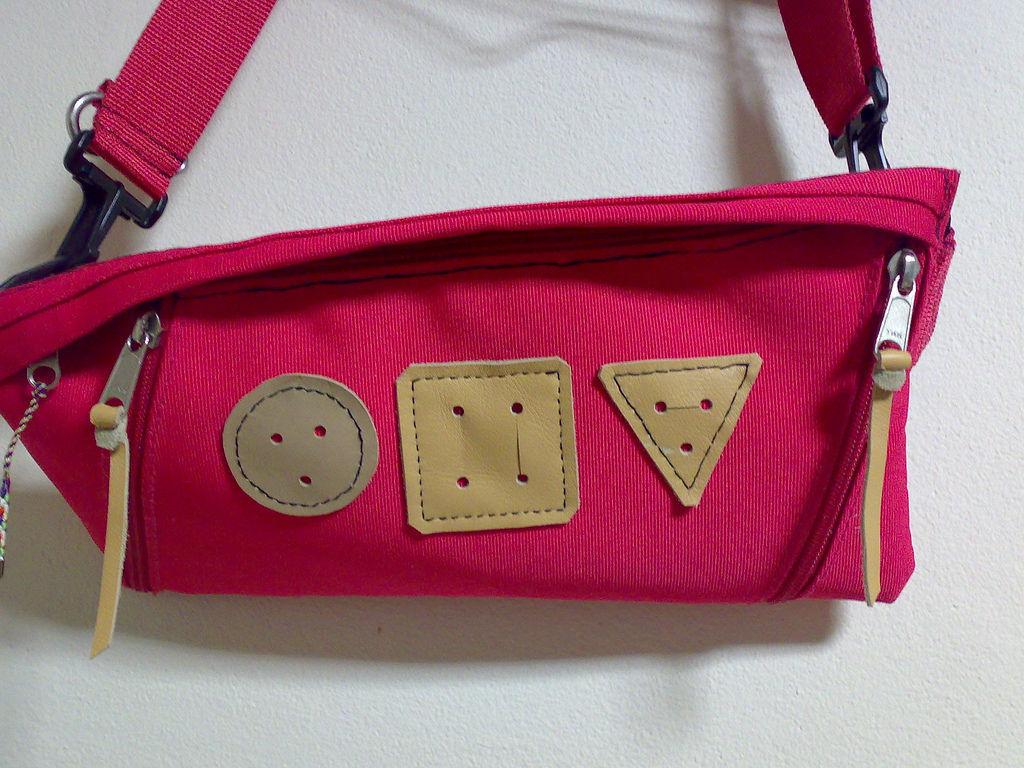petit messenger - pink