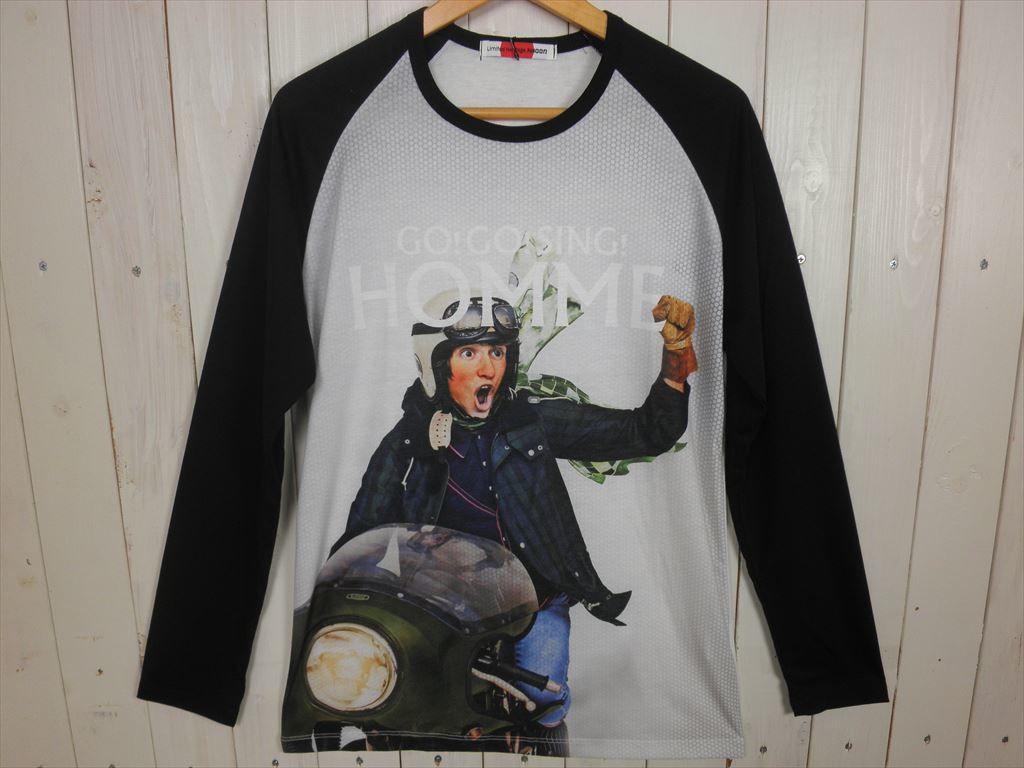 HOMME ラグラン L/STシャツ(サイズ L)