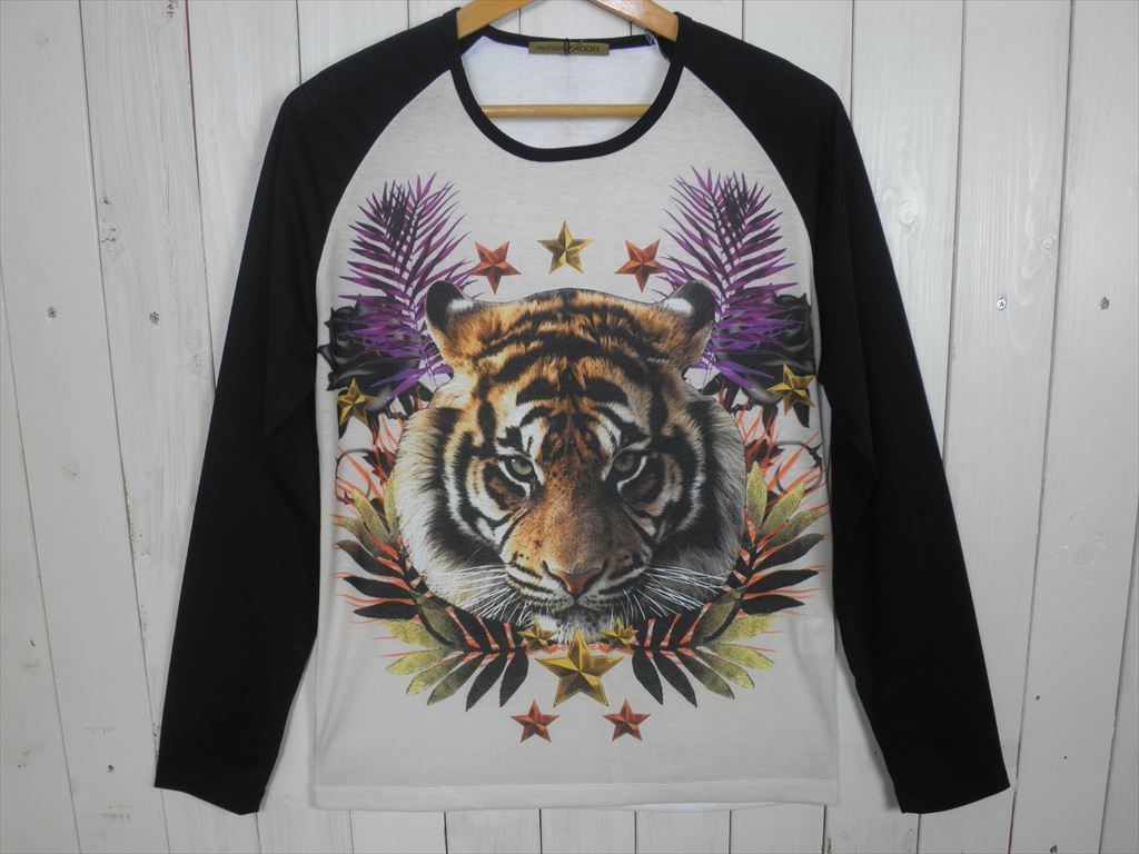 TIGER ラグラン L/STシャツ(サイズ L)