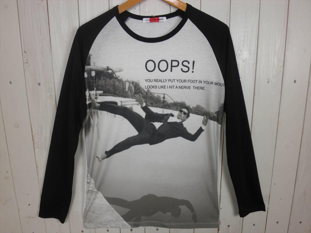OOPS! ラグラン L/STシャツ(サイズ L)