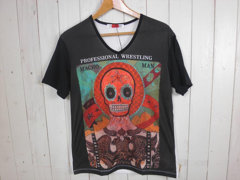 MACHOMAN スカルS/STシャツ(サイズ L)