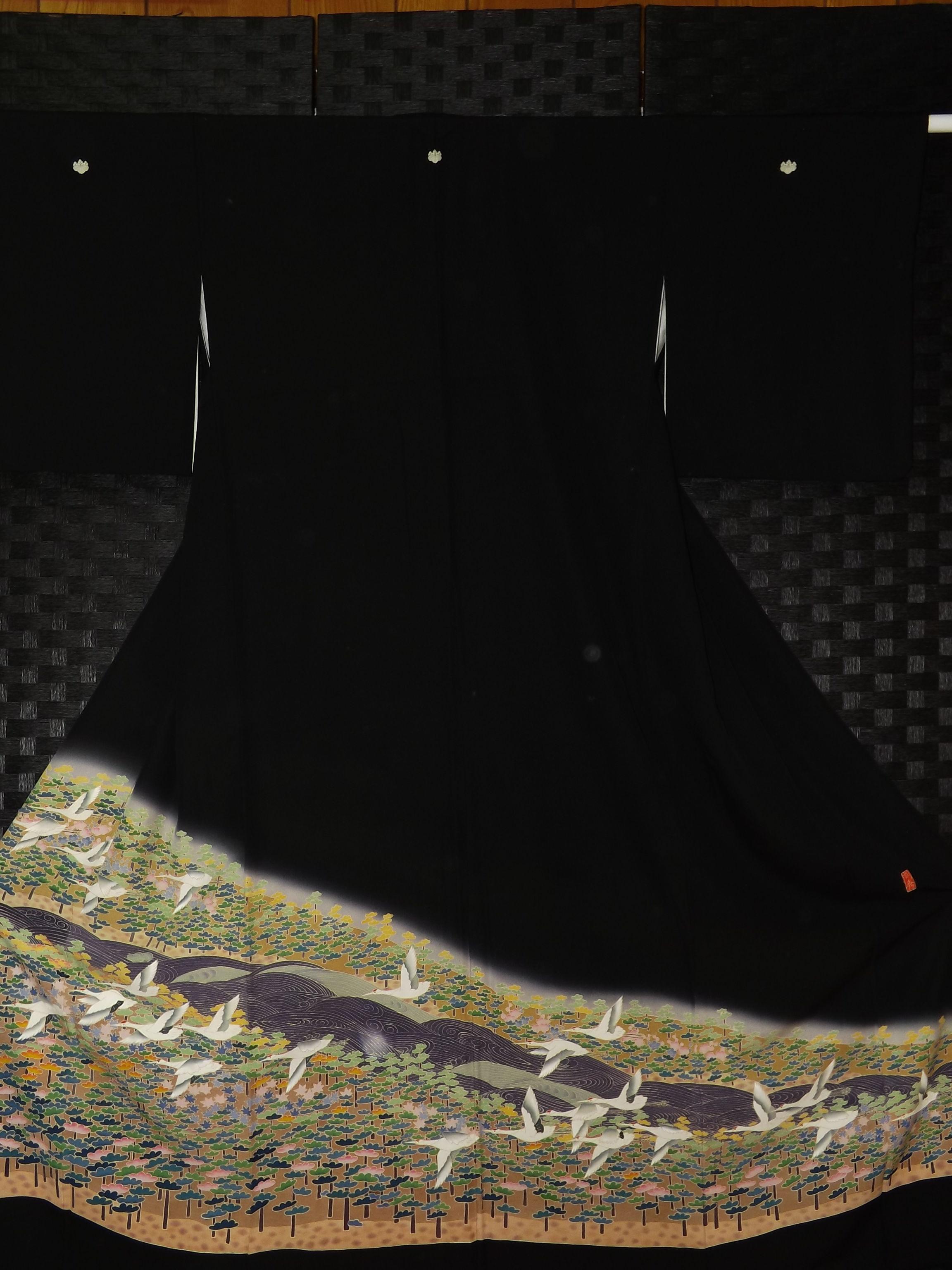 Used 黒留袖