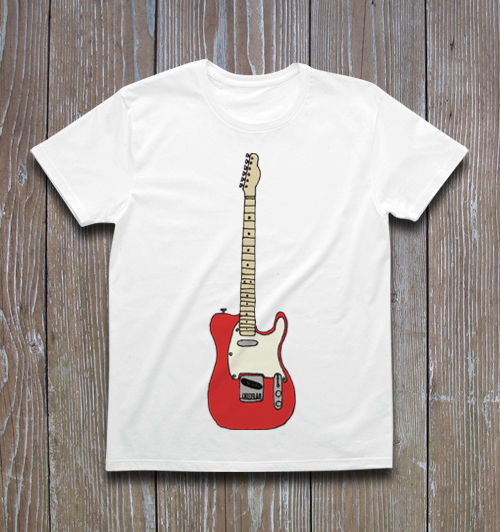TELECASTER Tシャツ ver.2