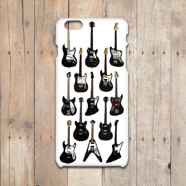 BLACK GUITARS       iPhone7/6/6S/5/5Sケース
