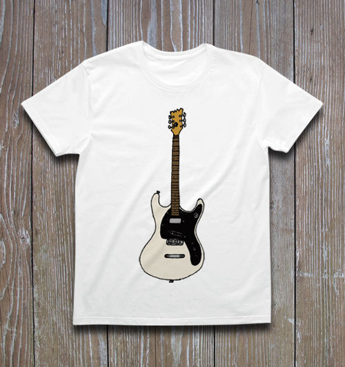 Mosrite The Ventures Model MARKⅡ Tシャツ ver.2