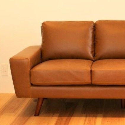 GENERAL LEATHER SOFA -3P-