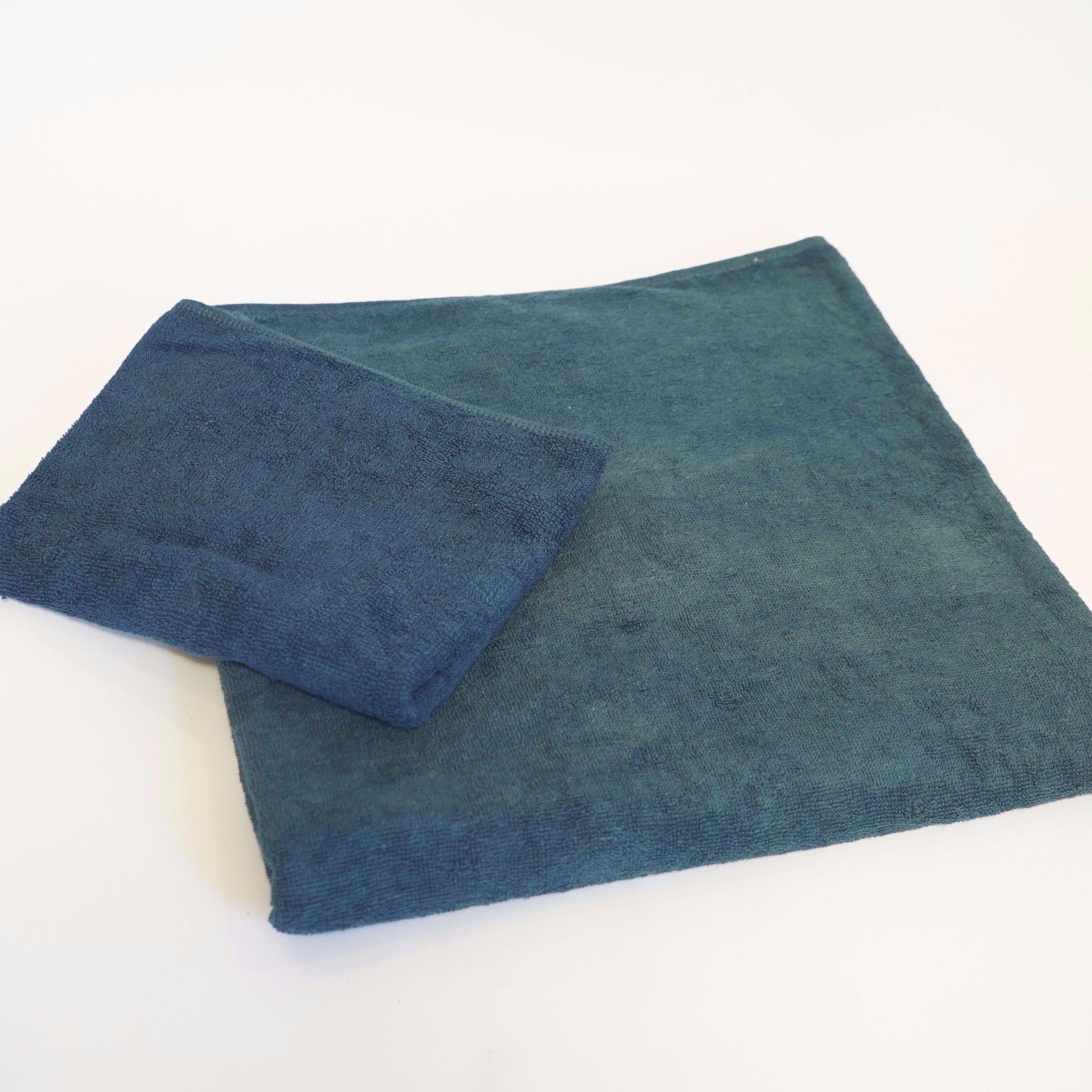 【ギフト】藍染バスタオル&フェイスタオル《お得セット》(各1枚)
