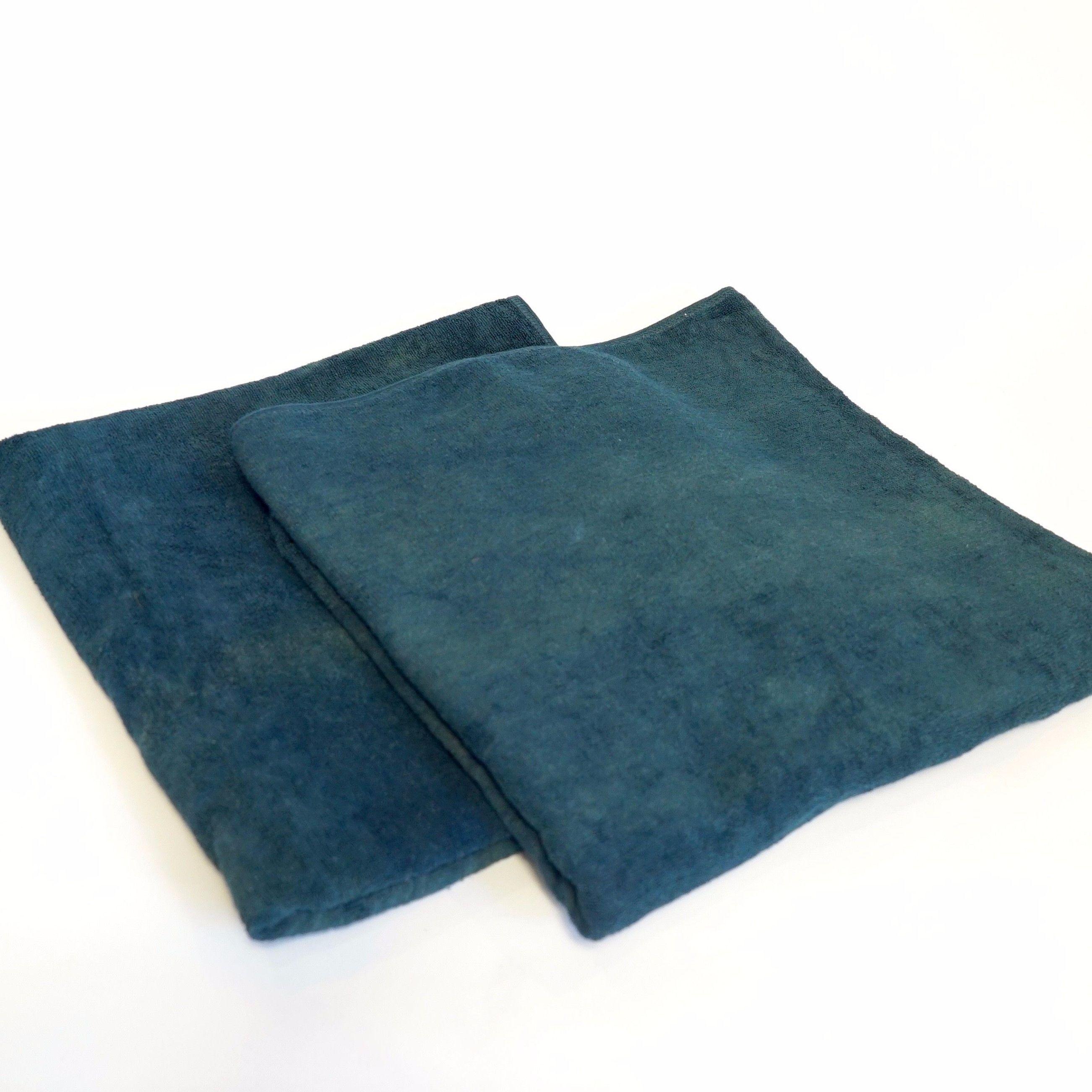 【ギフト】藍染バスタオル 2枚 《お得セット》