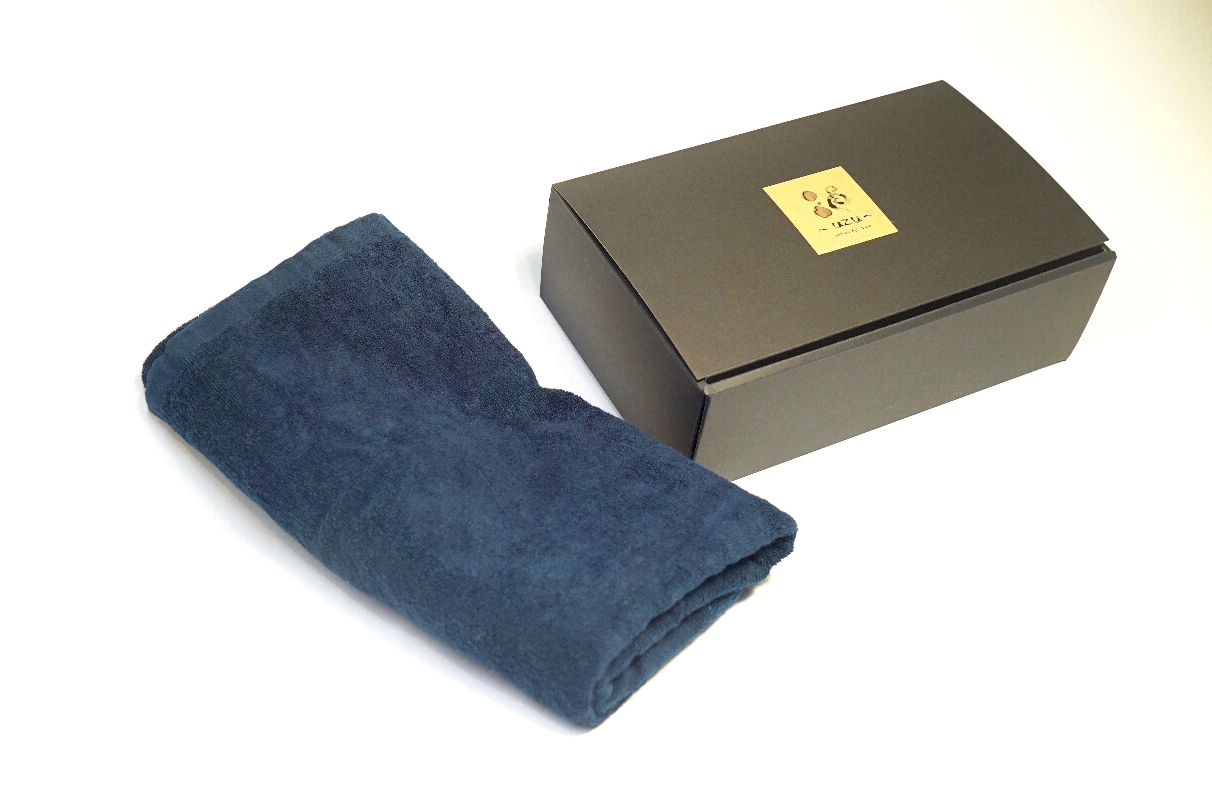 【ギフト】藍染バスタオル