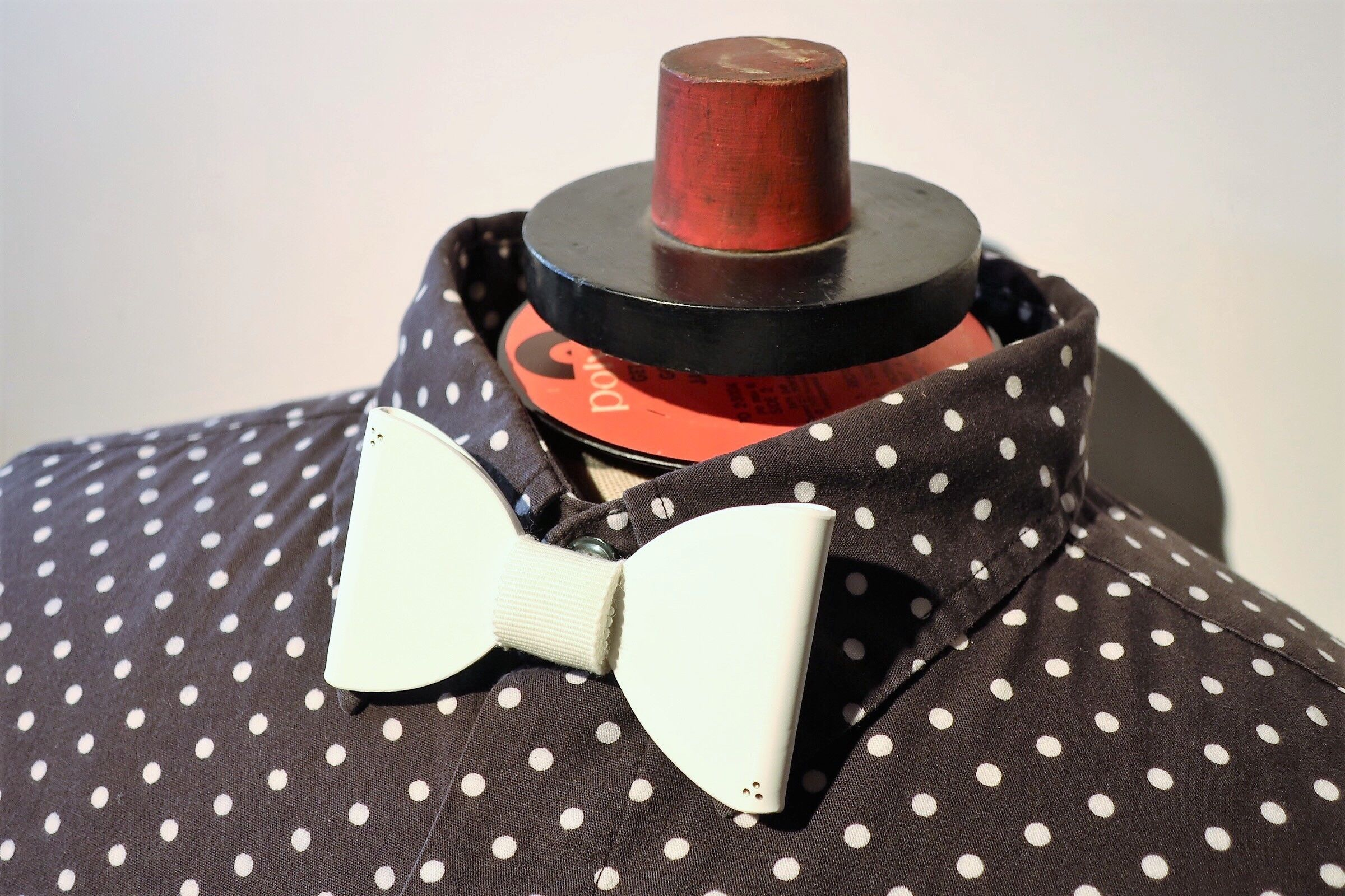 vinyl bow tie -color ver. -