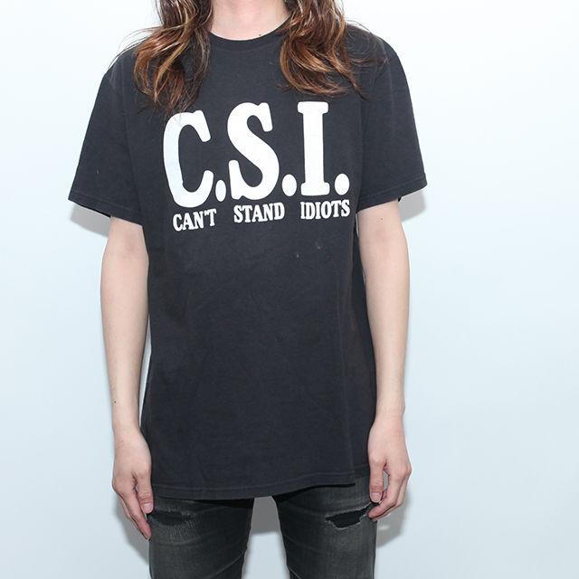 Vintage Funny T-Shirt C.S.I