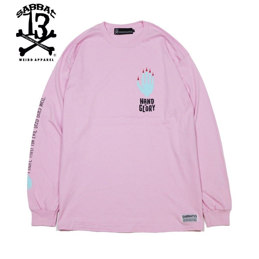 HAND OF GLORY L/S T / PINK