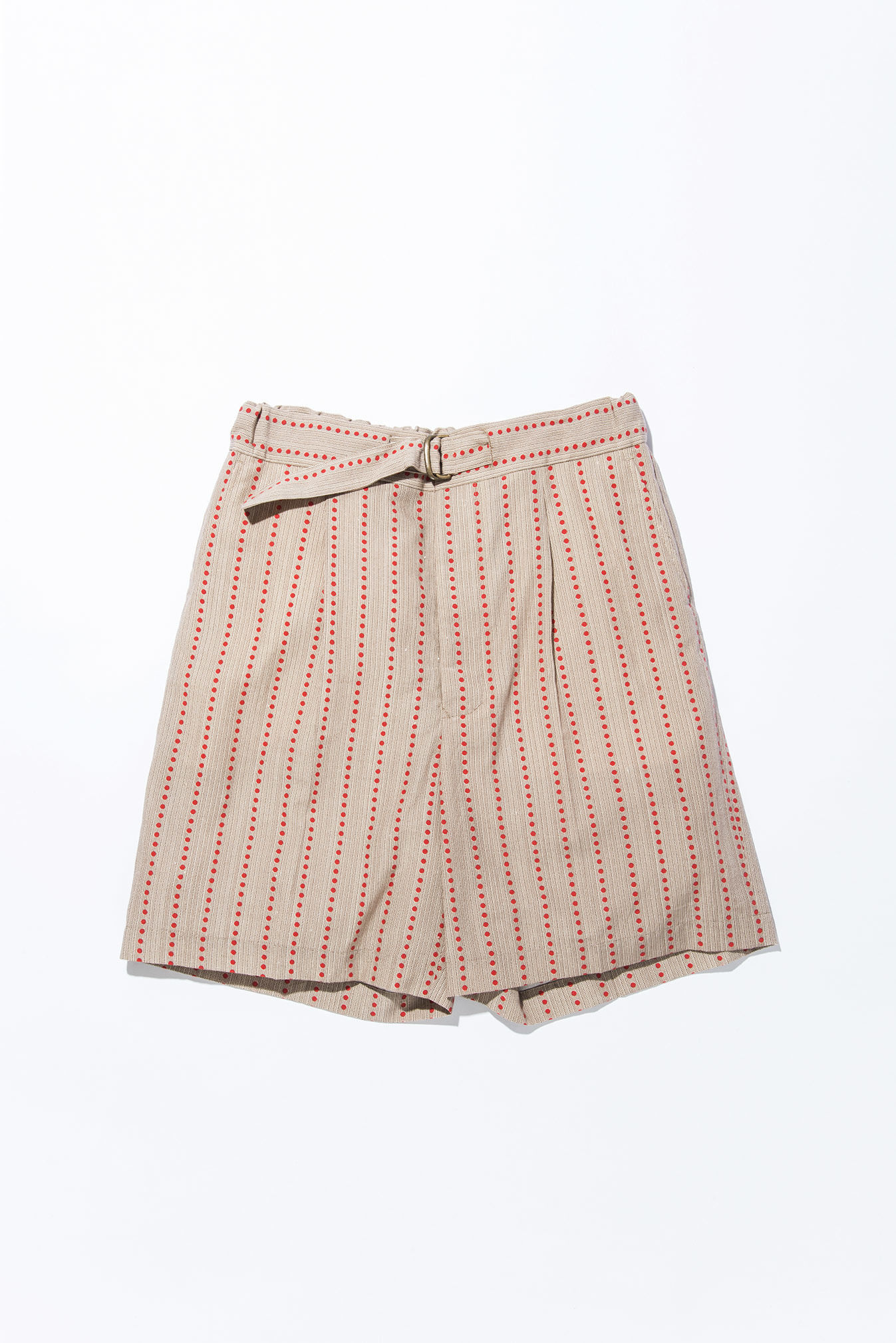 UNITUS(ユナイタス) SS17 Belted Easy Printed Red Stripe