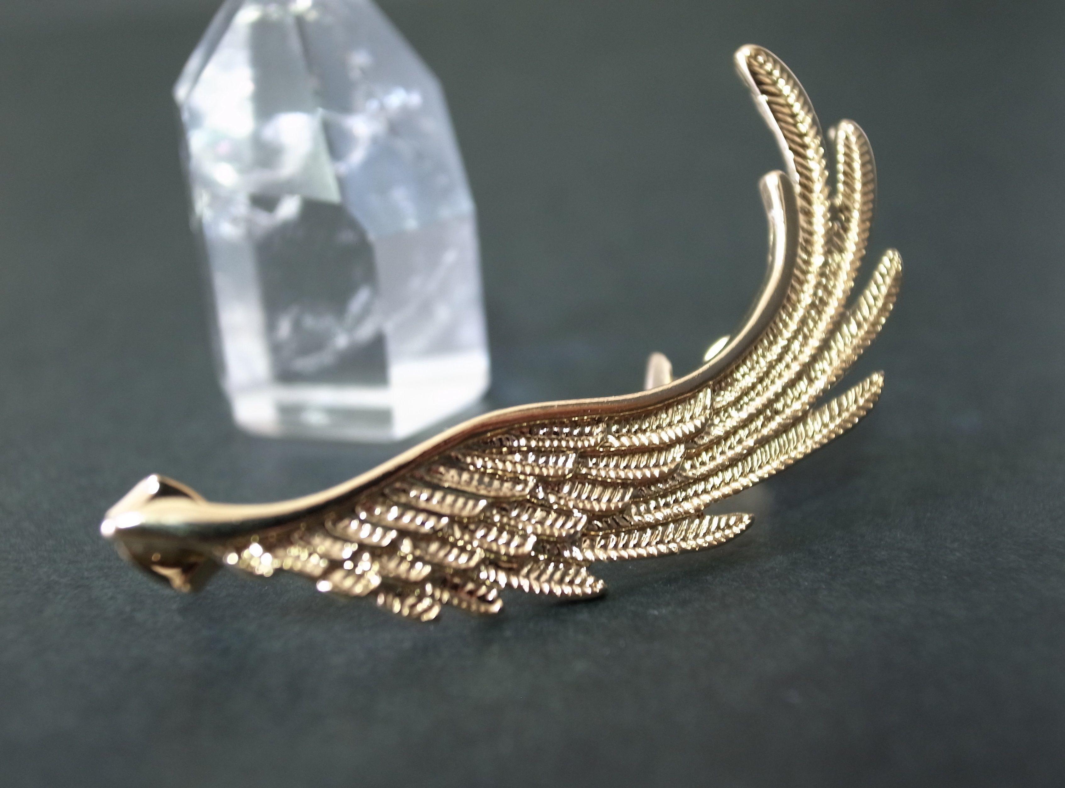Ear Cuff (wing/gold)