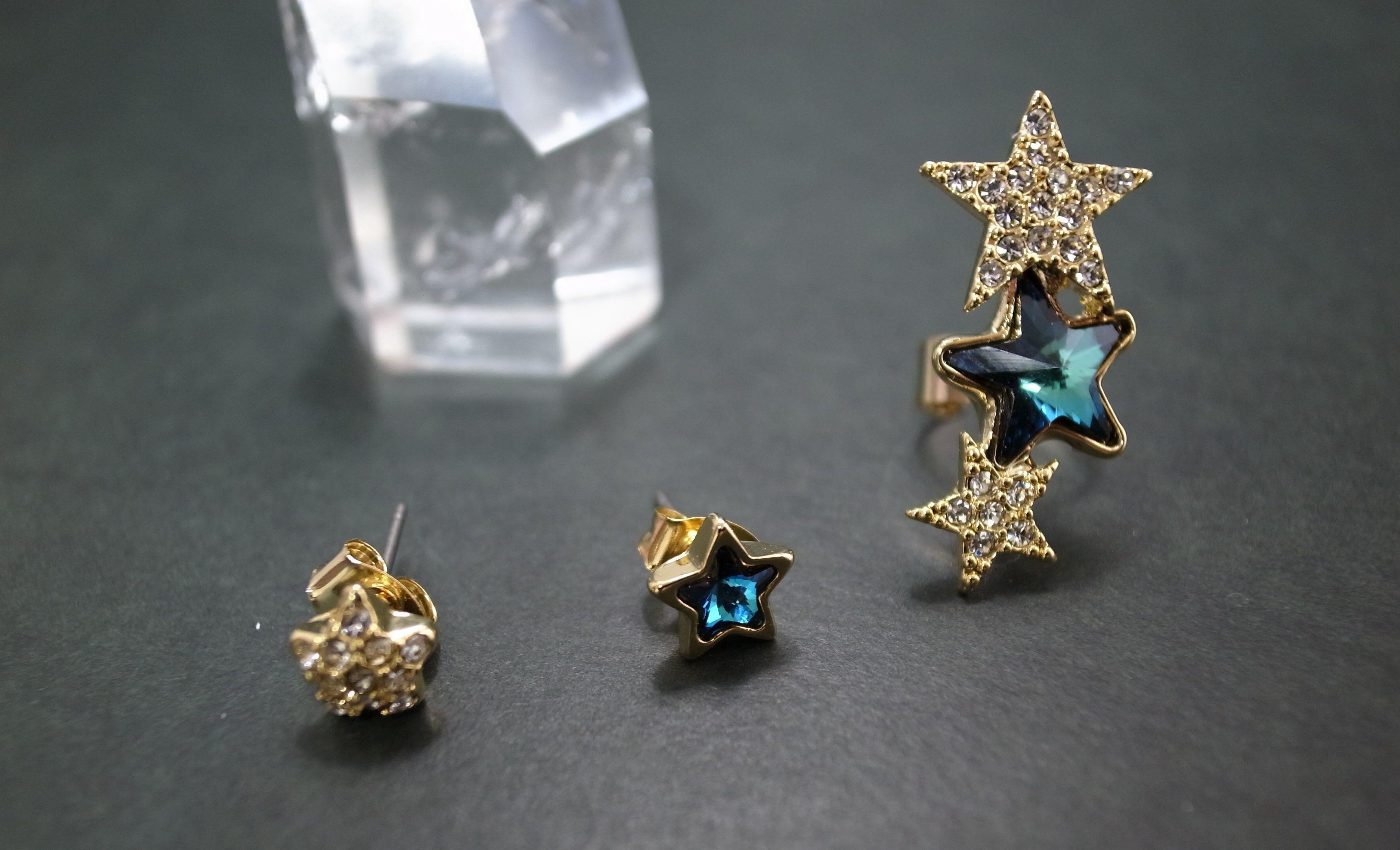 Ear Cuff(star stone)