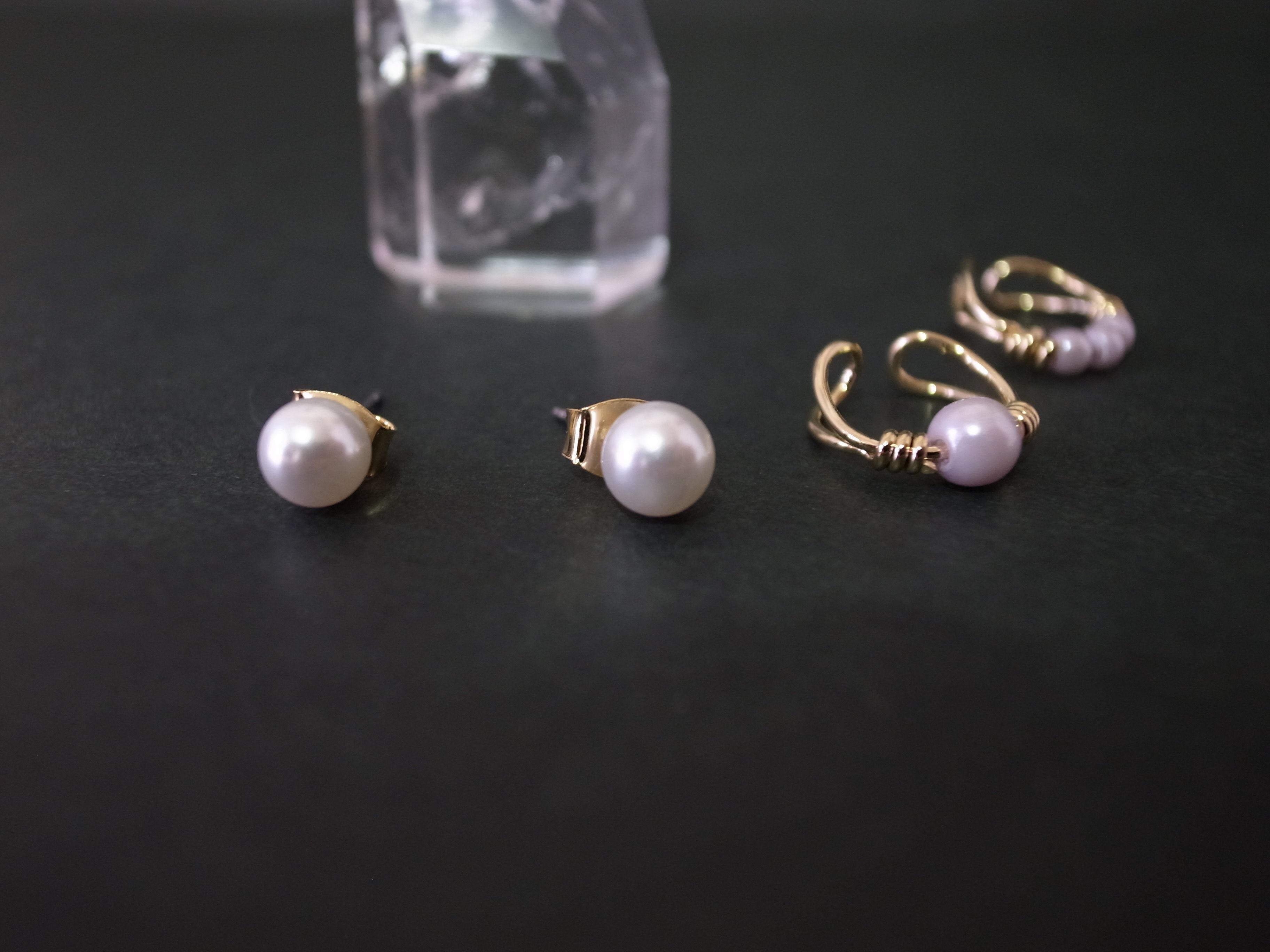 Ear Cuff (pearl sets)