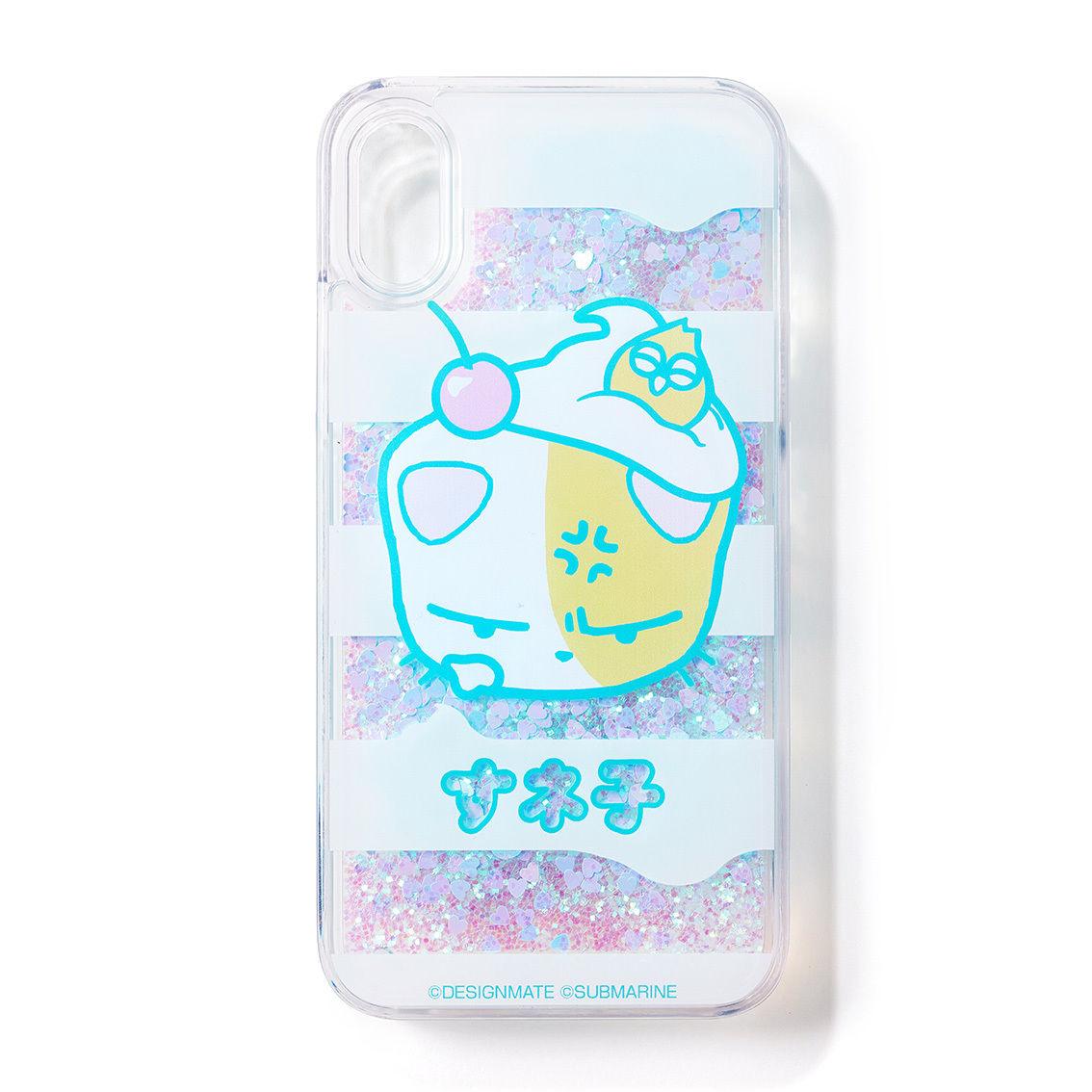すネ子グリッターiPhoneケース