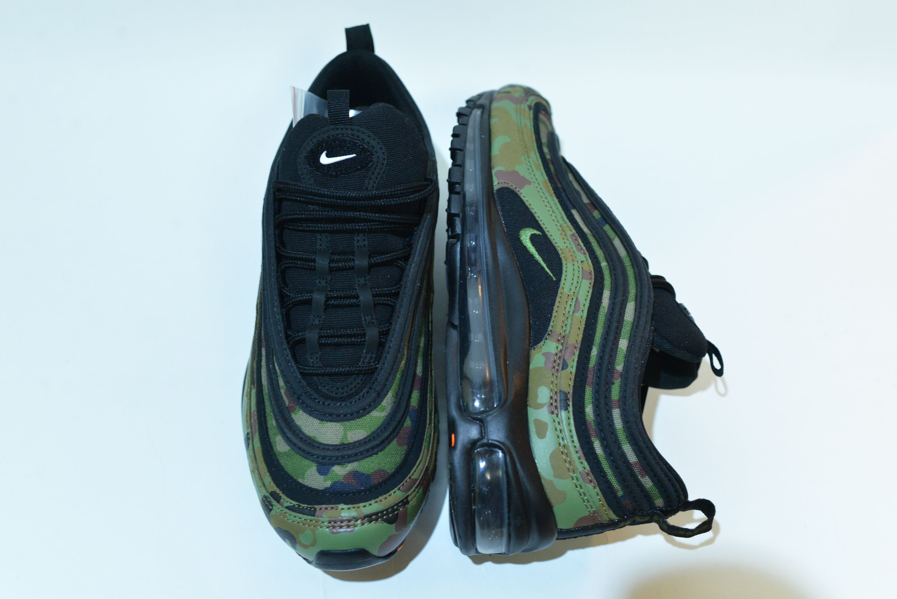 "NIKE AIR MAX 97 PREMIUM ""JAPAN"" / PALE OLIVE / SAFARI / LIGHT CHOCOLATE / BLACK / 27.5cm"