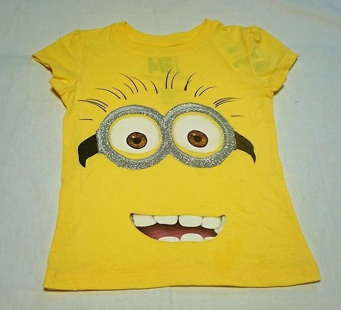 Hybrid*DESPICABLE ME 2 Short sleeved T-shirts(YE)