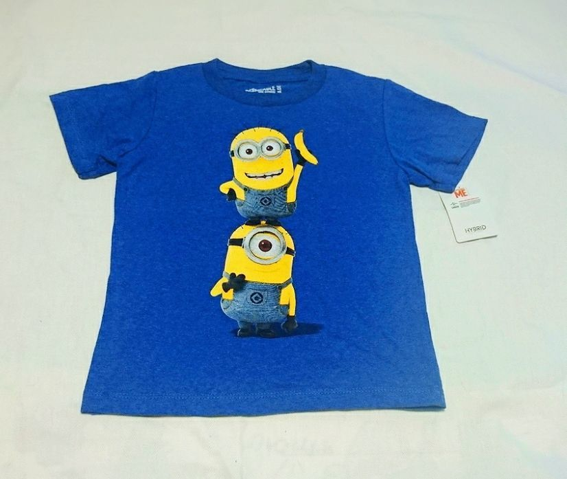 Hybrid*DESPICABLE ME 2 Short sleeved T-shirts(BL)