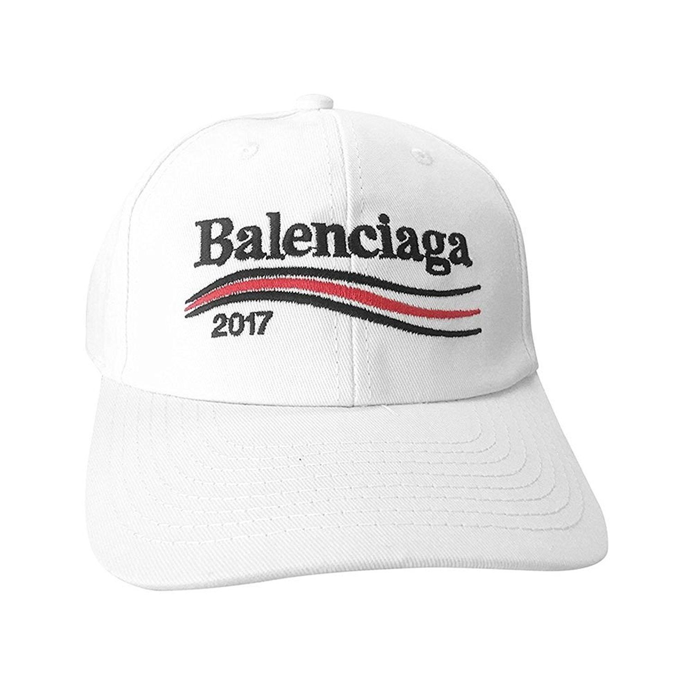 Balenciaga バレンシアガ キャップ 2017 白 黒 紺 メンズ レディース  ベースボールキャップ  刺繍 ロゴ帽子  ユニセックス 3色
