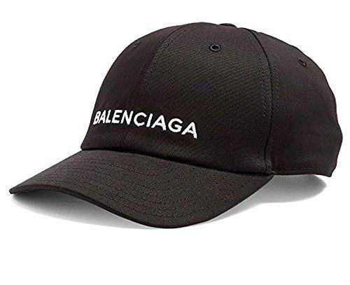 BALENCIAGA バレンシアガ メンズ レディース 帽子 スナップバック キャップ ロゴ刺繍 ベースボールキャップ 男女兼用 ブラック ホワイト