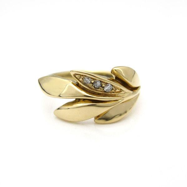 Achieve diamond Ring(アチーブダイヤリング)K10YG